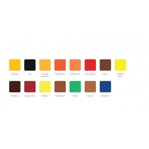 Pigment Kober, superconcentrat, ocru SCP10 - F, pentru vopsea lavabila, 30 ml