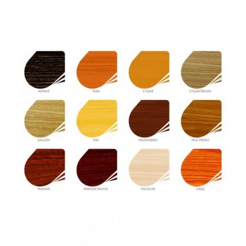 Lac / lazura groasa pentru lemn, Kober Extra 3 in 1, incolor, interior / exterior, 2.5 L + 0.75 L