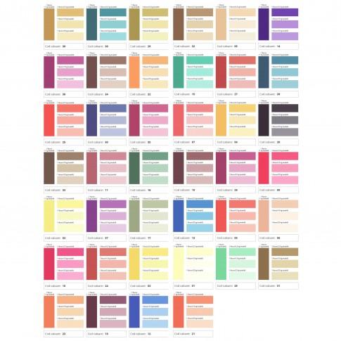 Pigment Mixt Color, pentru culori intense, rosu visiniu 10, pentru vopsea lavabila, 70 ml