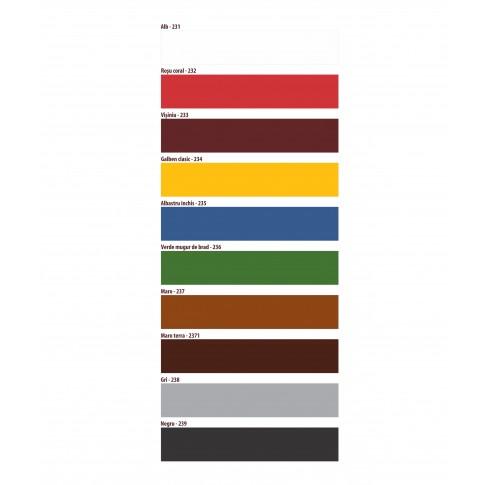 Vopsea alchidica pentru lemn / metal, Etalon, interior / exterior, alb, 0.75 L
