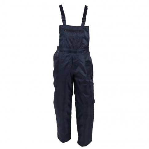 Pantaloni salopeta pentru protectie Pacific, poliester, marimea M