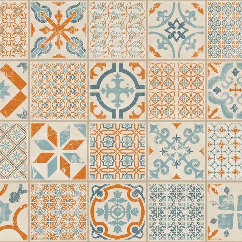 Pardoseala 4 mm orange-blue Tarkett LVT SF click 30 clasa 23