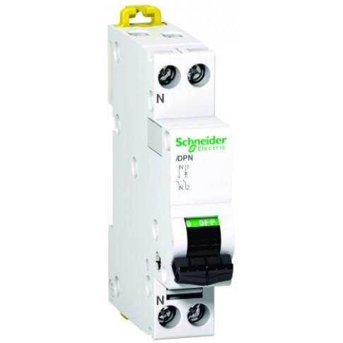 Intrerupator automat modular Schneider Electric iDPN A9N21550 1P+N 32A