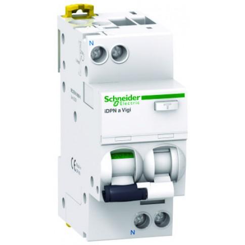 Intrerupator automat modular diferential Schneider Electric iDPNa Vigi A9D34606, 1P+N, 6A, curba C