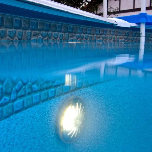 Set 2 proiectoare LED, magnetice, pentru piscine supraterane