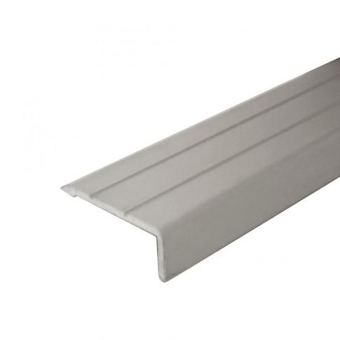 Profil aluminiu pentru treapta, Profiline argintiu, 25 x 10 mm, 0.9 m