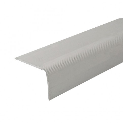 Profil aluminiu pentru treapta, Profiline argintiu, 40 x 25 mm, 0.9 m