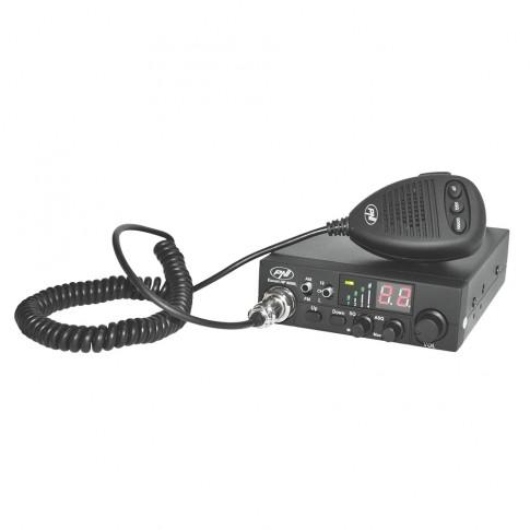 Statie radio auto CB PNI Escort HP 8000L, 4 W, 12 V, squelch manual, squelch automat reglabil, functie blocare taste