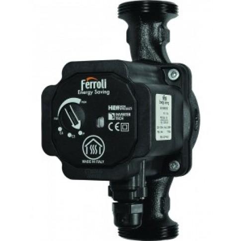 Pompa de circulatie Ferroli Energy Saving ES 25-60/180, H max. 5.7 m, Q max. 2.7 mc/h, PN10, 230V