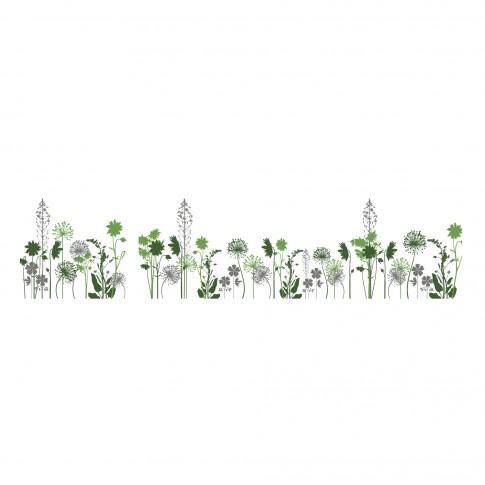 Bucatarie Spring, stejar pastel + gri + print, 260 cm, 7C