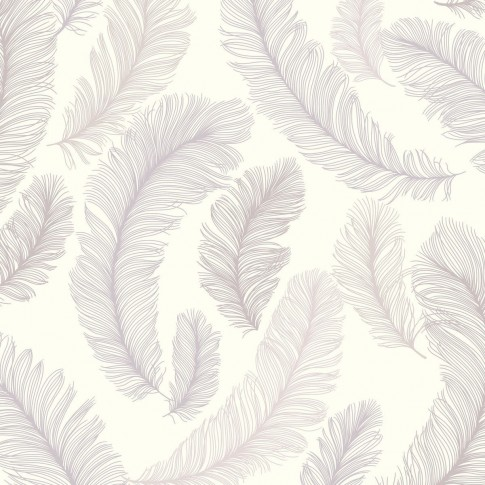 Tapet fibra textila, model frunze, Grandeco Plume RE2001, 10 x 0.53 m