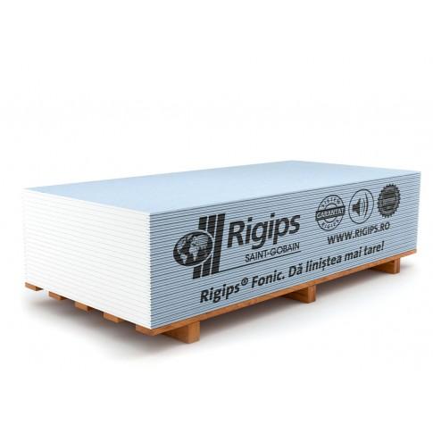 Placa gips carton tip D izolare acustica Rigips Fonic 12.5 x 1200 x 2600 mm