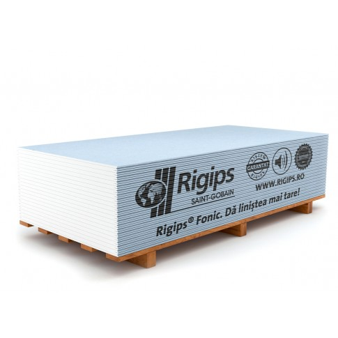 Placa gips carton acustica Rigips 12.5 x 1200 x 2000 mm