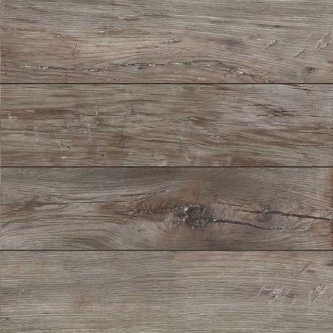Gresie exterior / interior portelanata Rila Walnut mata tip parchet maro 45 x 45 cm