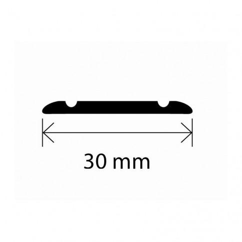 Profil aluminiu de trecere, SET S02 auriu 2.7 m