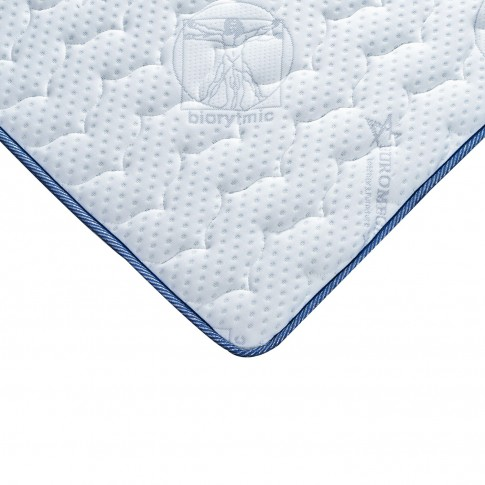 Saltea pat Euro Mega Biorytmic Sleep, 1 persoana, cu spuma poliuretanica + memory, fara arcuri, 125 x 190 cm