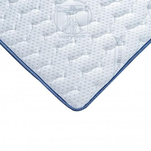 Saltea pat Euro Mega Biorytmic Sleep, cu spuma poliuretanica + memory, fara arcuri, 180 x 200 cm