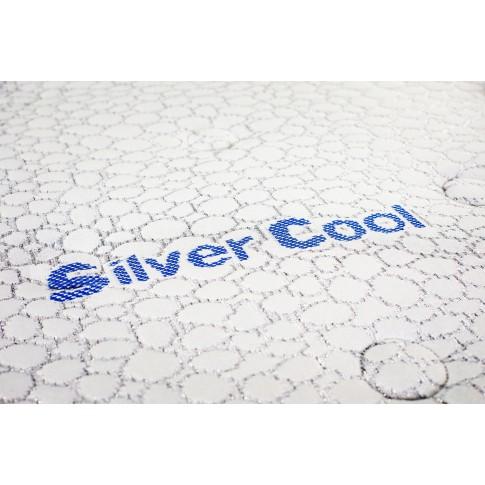 Saltea pat Green Future Silver Cool, cu spuma Memo Gel + poliuretanica + latex, fara arcuri, 140 x 200 cm