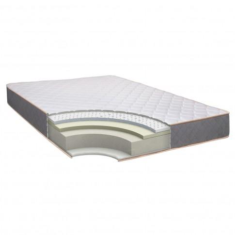 Saltea pat Bedora X-treme Confort, ortopedica, cu spuma memory + latex, fara arcuri, 140 x 200 cm