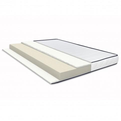 Saltea pat Bedora Ecoline, ortopedica, 1 persoana, cu spuma poliuretanica, fara arcuri, 120 x 200 cm