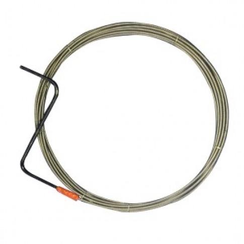 Cablu pentru desfundat canale,  D 6 mm, 30 ml