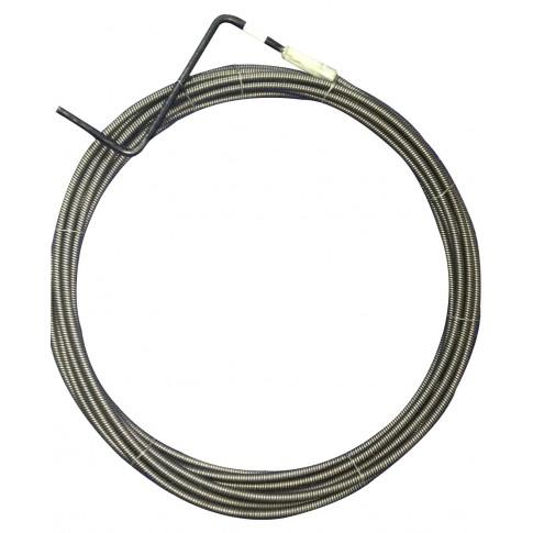 Cablu pentru desfundat canale, D 6 mm, 3 ml