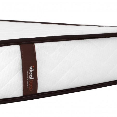 Saltea pat Ideal Sleep, ortopedica, 140 x 200 cm, cu arcuri + spuma poliuretanica