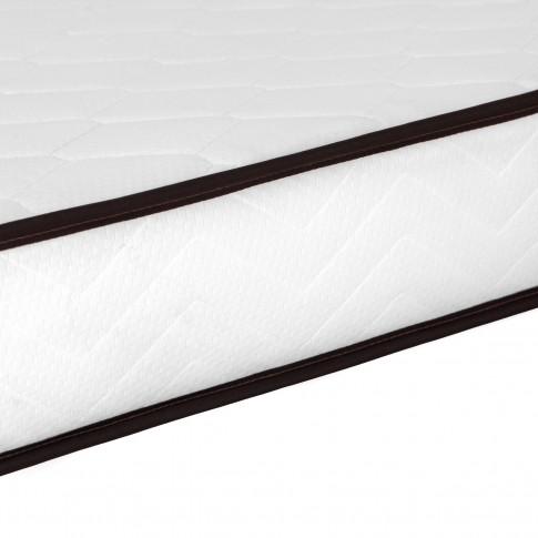 Saltea pat Ideal Sleep, ortopedica, 90 x 200 cm, 1 persoana, cu arcuri + spuma poliuretanica