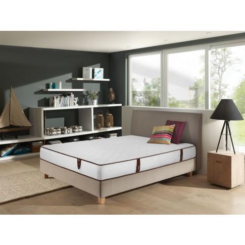 Saltea pat Ideal Sleep, ortopedica, 160 x 200 cm, cu arcuri + spuma poliuretanica