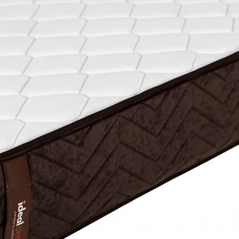 Saltea pat Ideal Sleep, superortopedica, 80 x 200 cm, 1 persoana, cu arcuri + spuma poliuretanica