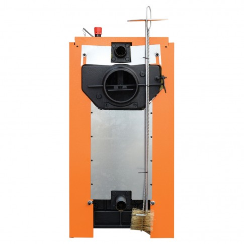 Cazan termic pe lemne, carbune Ferroli SLK Pro 7, cu ardere normala, din fonta, 38/46 kW, 7 elementi