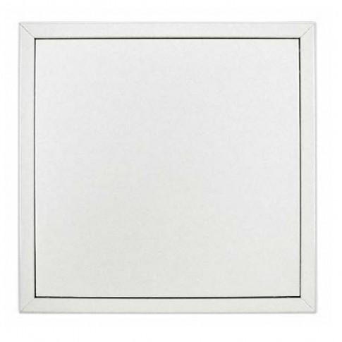 Usita vizitare Softline Dakota, prevopsita, tabla zincata, 600 x 600 mm