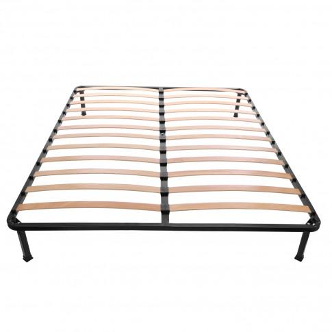 Somiera cu cadru metalic si lamele elastice, 140 x 200 cm