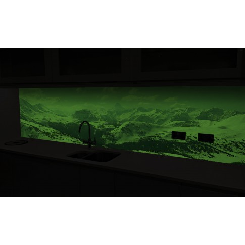 Panou decorativ bucatarie Splashback, compozit, luminescent, SPB 060, peisaj, 2950 x 600 x 3 mm