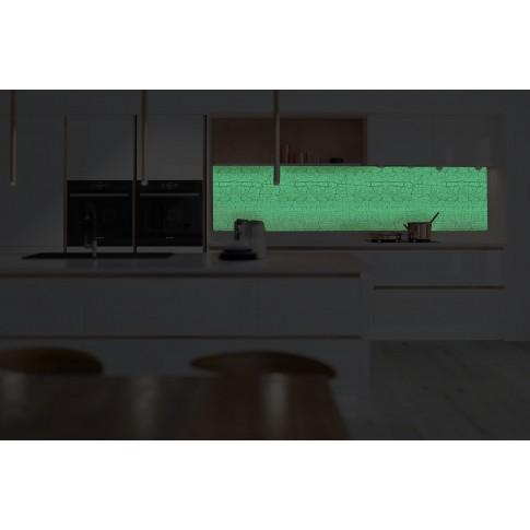 Panou decorativ bucatarie Splashback, compozit, luminescent, SPB 069, abstract, 4000 x 750 x 3 mm