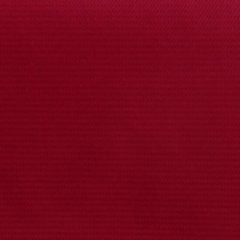 Fotoliu fix 2 locuri Tudor, stofa, rosu + model floral, 1C