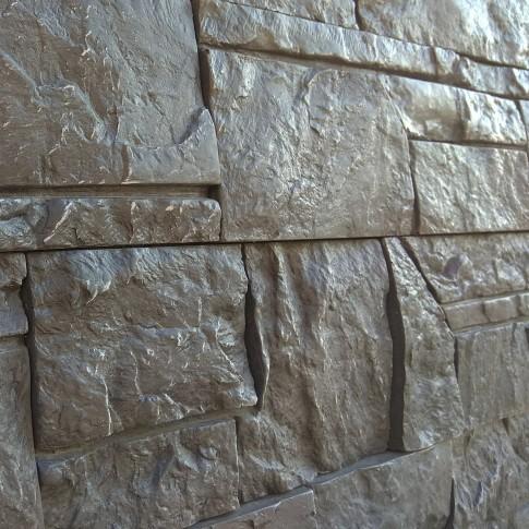 Piatra decorativa, interior / exterior, Dacia 07, gri inchis si negru (cutie = 0.8 mp)