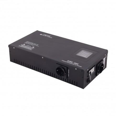 Stabilizator de tensiune cu releu, slim SVRS-3000, 3000VA / 2250W