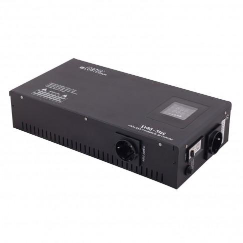 Stabilizator de tensiune cu releu, slim SVRS-5000, 5000VA / 3750W