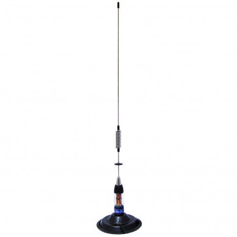 Antena statie radio CB PNI ML70, exterior, cu baza magnetica 145 mm + cablu 4 m + mufa PL259, 200 W, impedanta 50 Ohmi, 0.7 m, distanta de comunicare 9 km