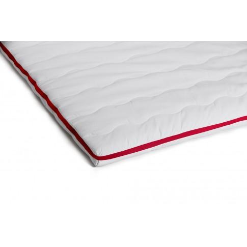 Topper saltea Bedora Dual Confort, cu spuma poliuretanica + memory, 130 x 190 cm