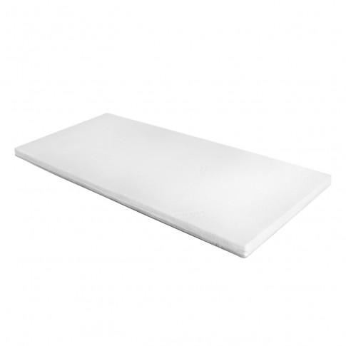 Topper saltea Adormo Memory 4+2, 80 x 195 cm, cu spuma poliuretanica + memory