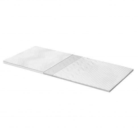 Topper saltea Dormeo Silver Plus 3 Zone cu spuma Ecocell 140x200 cm
