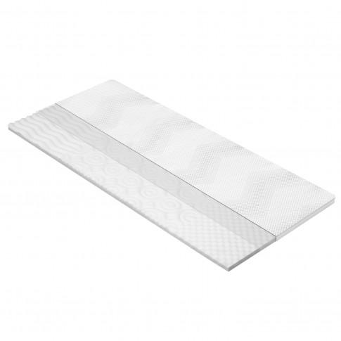 Topper saltea Dormeo Silver Plus 3 Zone cu spuma Ecocell 120x200 cm