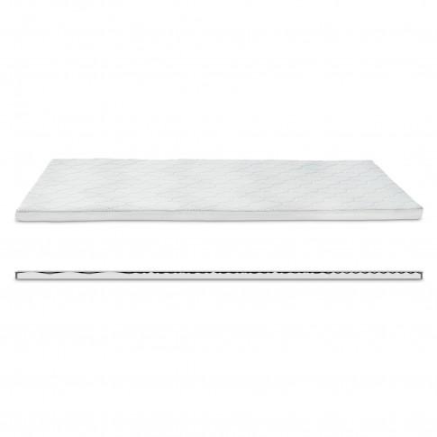 Topper saltea Dormeo Silver Plus 4+1 cu spuma Ecocell si Formacell 160x200 cm