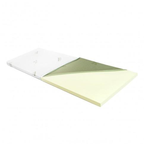 Topper saltea Adormo Memory Relax, 110 x 190 cm, cu spuma memory