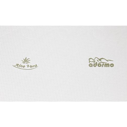 Topper saltea Adormo Memory Relax, 100 x 200 cm, cu spuma memory