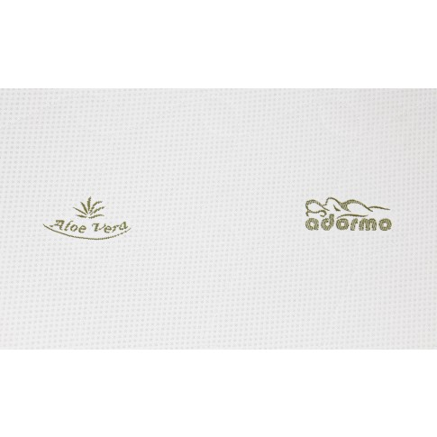 Topper saltea Adormo Memory Relax, 110 x 200 cm, cu spuma memory