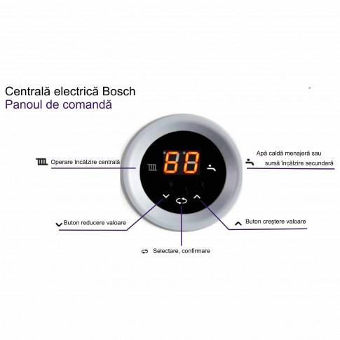Centrala termica electrica Bosch Tronic Heat 3500 - 9, 9 kW