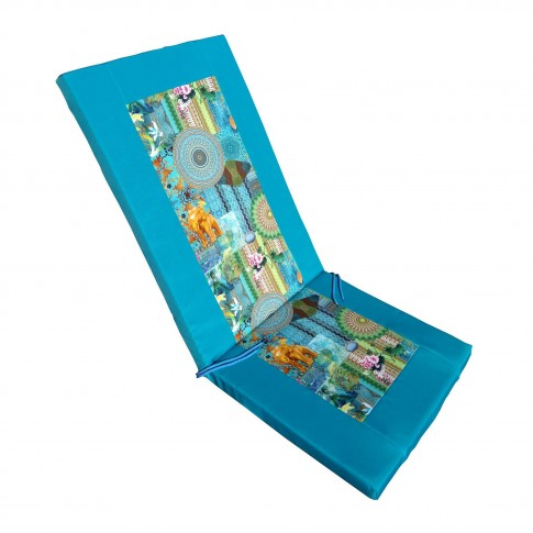 Perna pentru scaun Tropical, poliester cu umplutura spuma poliuretan, 118 x 48 x 4 cm